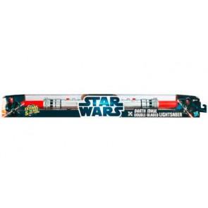 Star Wars - Spada Laser Telescopica Rossa Doppia