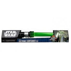 Star Wars - Spada Laser Telescopica Elettronica Yoda