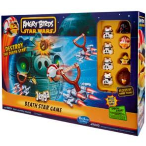 Angry Birds Star Wars - Jenga Death Star Battle Gamee