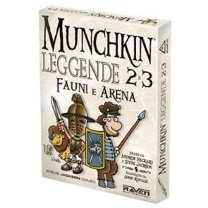 Munchkin Leggende 2 e 3 Fauni e Arena