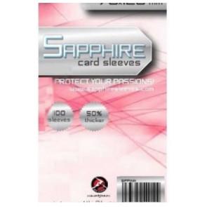 100 Bustine protettive Sapphire formato 70x120mm