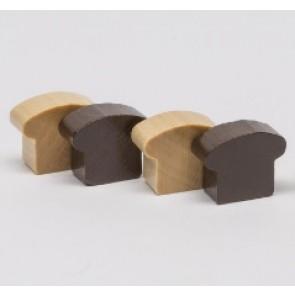 Fetta di pane (1 pezzo) - Colore naturale