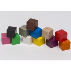 Cubo 10mm (1 pezzo) - Rosso