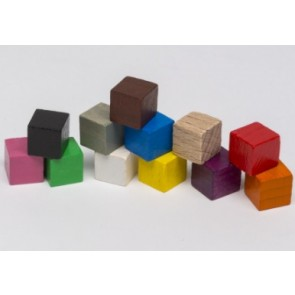 Cubo 10mm (1 pezzo) - Viola