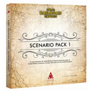 PREORDINE Day one 15-10-21: Small Railroad Empires Espansione Scenario Pack 1