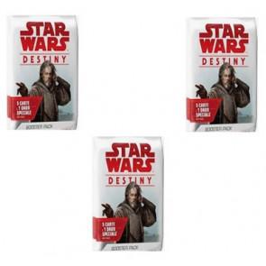SOTTOCOSTO: 3x Star Wars Destiny Booster Pack Vie della forza