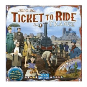 Ticket to ride Francia + Vecchio West