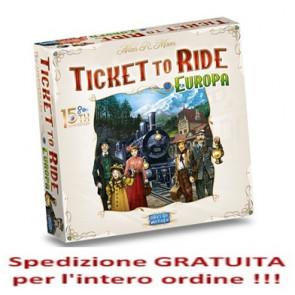 PREORDINE: Ticket to Ride Europa 15° anniversario in italiano !
