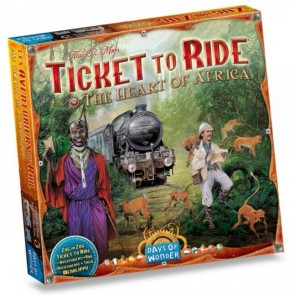 Ticket to Ride Map Collection Volume 3 Africa