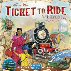 Ticket to Ride Map Collection Volume 2 India & Switzerland