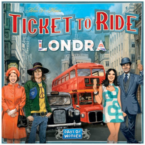 Ticket to ride Londra