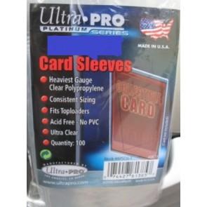 10 pacchi di Ultra Pro 100 Bustine Protettive Morbide Economiche ( 66,7 x 92,1mm )