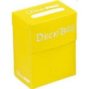 Deck Box - Porta Mazzo Giallo