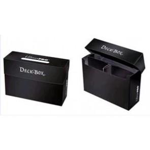 Deck Box - Porta Mazzo Oversized - Nero Opaco