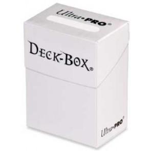 Deck Box - Porta Mazzo Bianco Opaco