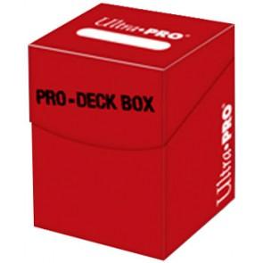 Deck Box - Porta Mazzo Pro-100+ - Rosso