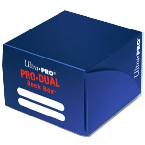 Deck Box - Porta Mazzo Pro-Dual - Blu