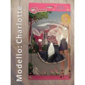 Vestito per Bambole - Modello Charlotte