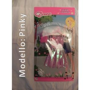 Vestito per Bambole - Modello Pinky