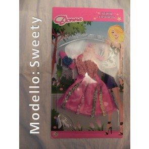 Vestito per Bambole - Modello Sweety